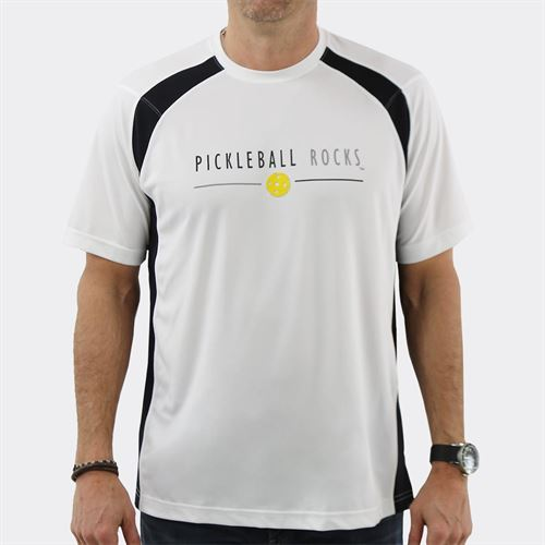 5529cd54 Pickleball Rocks Tournament Players Favorite Crew - White/Black