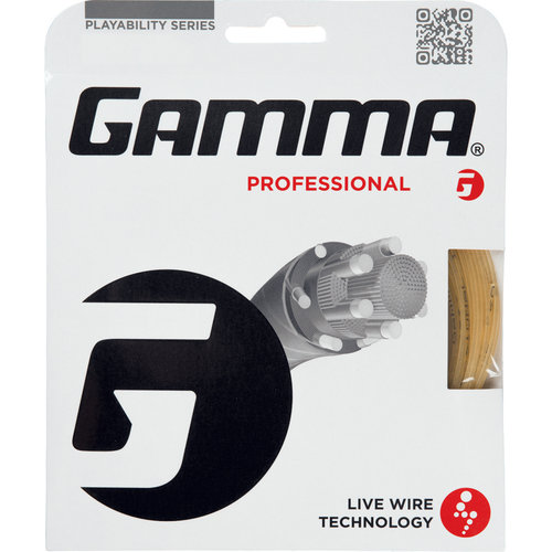 Gamma Live Wire Professional 18G Tennis String