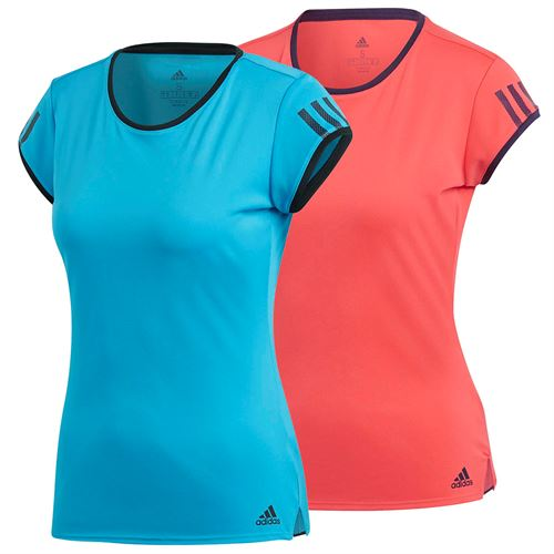 01210ee7f3 adidas Club 3 Stripe Tee, Q119_wclub3steeb | Women's Tennis