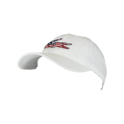 45890c5f Lacoste Big Croc USA Hat, RK6263 001 | Tennis Accessories