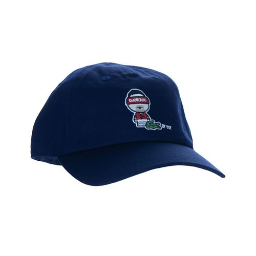 Lacoste Casquette Hat - Navy/Blue/White