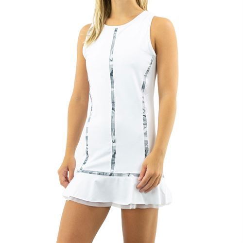 Inphorm Graphite Quinn Dress Womens White/Graphite S20001 0145