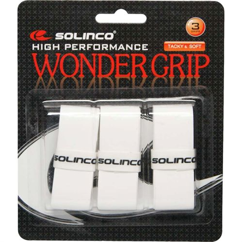 Solinco Wonder Tennis Overgrip 3 Pack