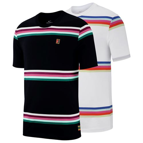 2dc270fe Nike Heritage Stripe Tee, Sp19_AO1148B | Men's Tennis Apparel