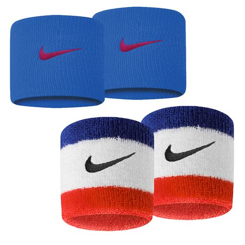 the best attitude f6689 656a6 Nike Swoosh Wristbands, Sp19 N0001565   Tennis Accessories