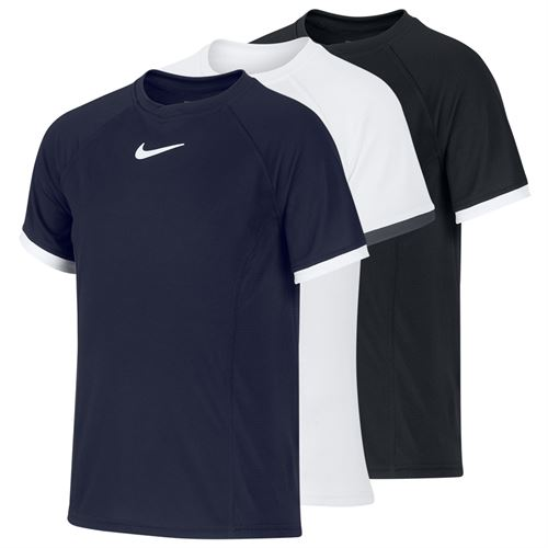 Nike Boys Court Dri Fit Crew Shirt SP 20