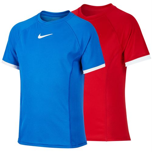 Nike Boys Court Dri Fit Crew Shirt SP 20 B