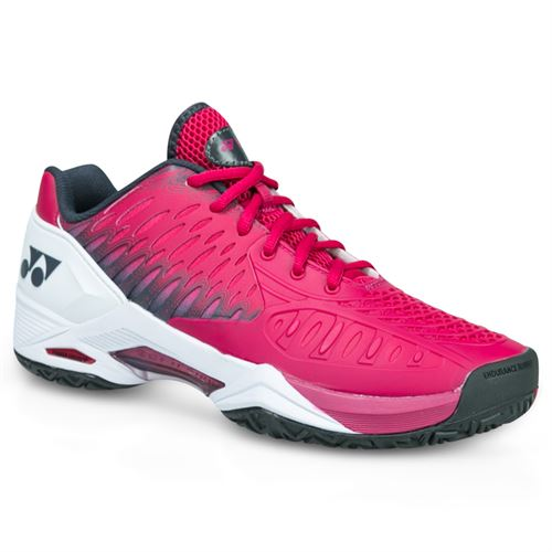 Yonex Power Cushion Eclipsion Mens Tennis Shoe - Dark Pink/Red