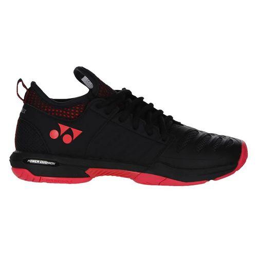 Yonex Fusion Rev 3 Mens Tennis Shoe Black/Red