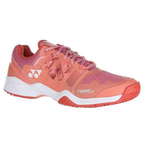 Yonex Power Cushion Sonicage Womens Tennis Shoe - Coral Pink