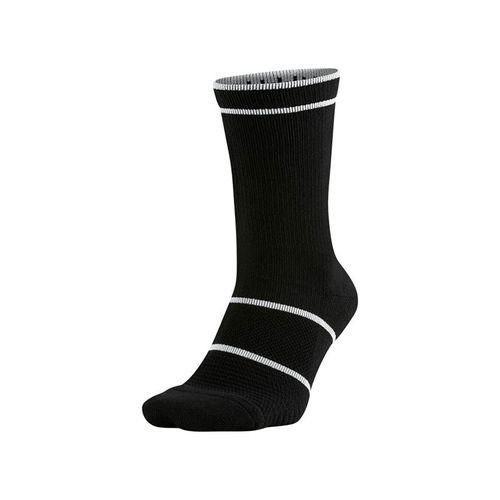 Nike Court Essentials Crew Tennis Sock - Black/White