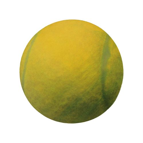 Clarke Tennis Ball Mouse Pad