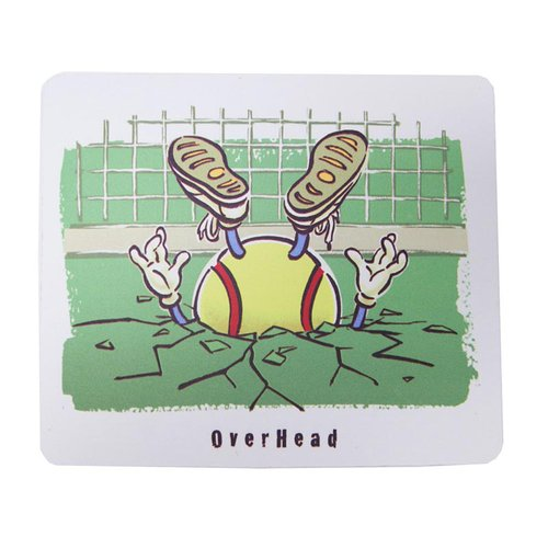 Tennis Drop Shot Mousepad T889-4, Midwest Sports