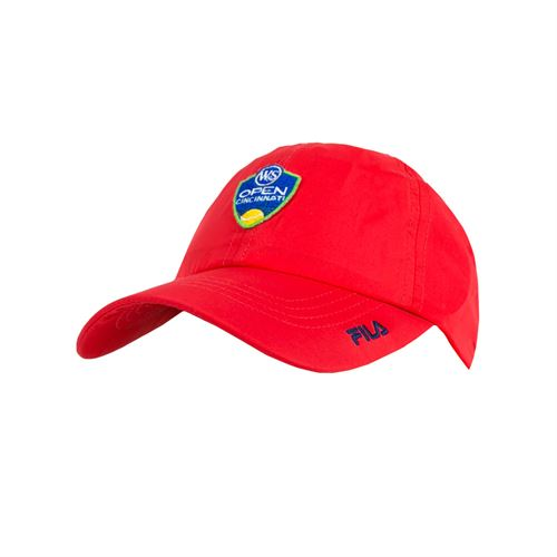 Fila Western and Southern Open Volunteers Cap - Chinese Red