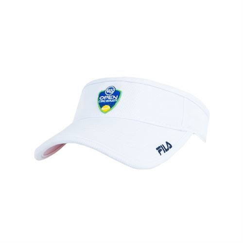 Fila Western and Southern Open Volunteers Visor - White