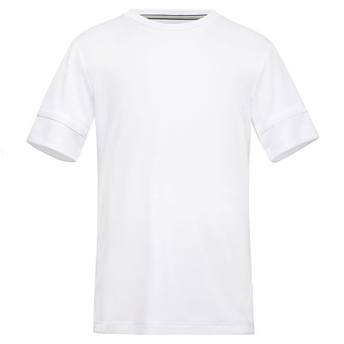 Fila Boys Player Doubles Crew Shirt White TB018393 100