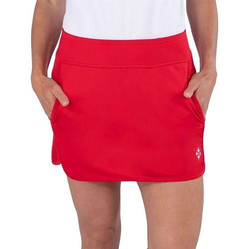 Jofit Cape May Petal Hem Skirt Womens Lipstick Jacquard TB076 LSK