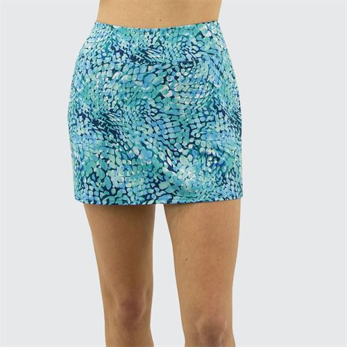 Jofit Hot Toddy Mina Skirt Womens Cove Mosaic Print TB506 CMP