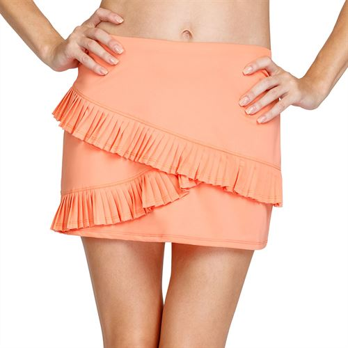 Tail Poppy Love Kayla Asymmetrical Pleat 13 1/2 inch Skirt Womens Sundown TC6959 9519
