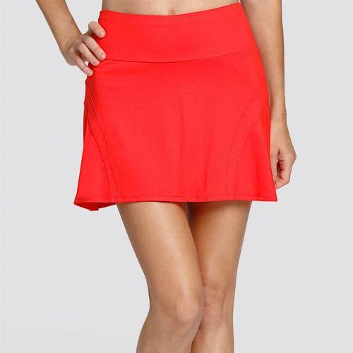 Tail Palm Springs Wrap Around Flounce Skirt - Paprika