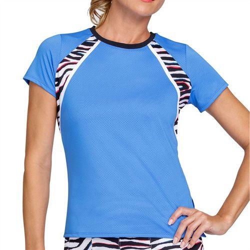 Tail Free Spirit Imani Short Sleeve Top - Sky Blue