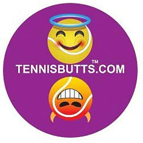 Tennis Butt Decal - Naughty or Nice