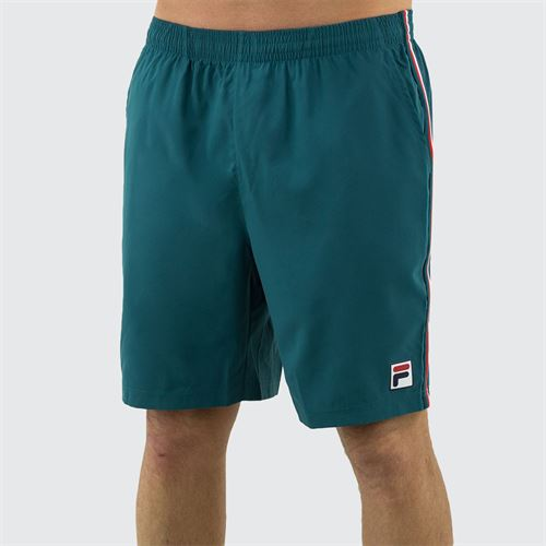 Fila Legend Short Mens Pacific/White/Chinese Red TM015372 982
