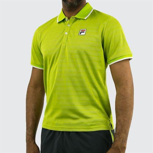 Fila Legend Polo - Lime Green/White