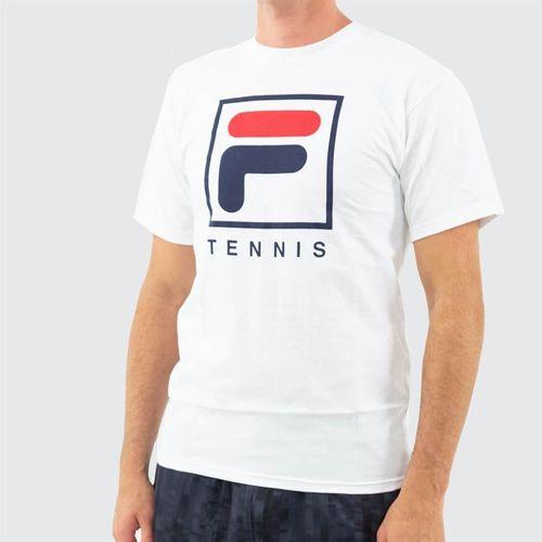 Fila F Box Tennis Tee Mens White TM833814 100