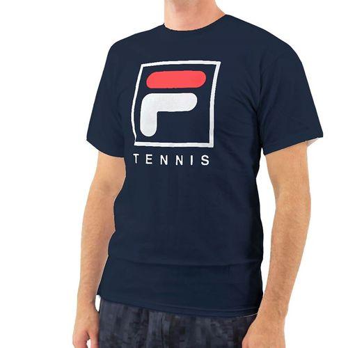 Fila F Box Tennis Tee Mens Peacoat TM833814 410