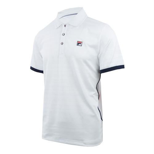 e4e3d32f Fila Heritage Striped Polo, TM911735 100 | Men's Tennis Apparel