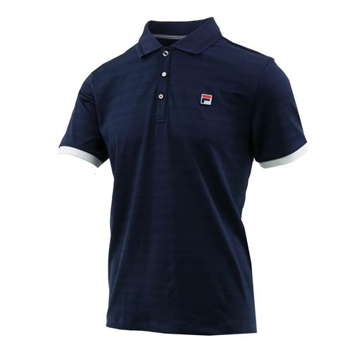 e68302c3 Fila Heritage Striped Polo, TM911735 412 | Men's Tennis Apparel