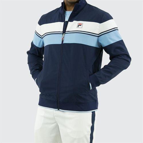 Fila Legend Jacket, Navy/White/Placid Blue