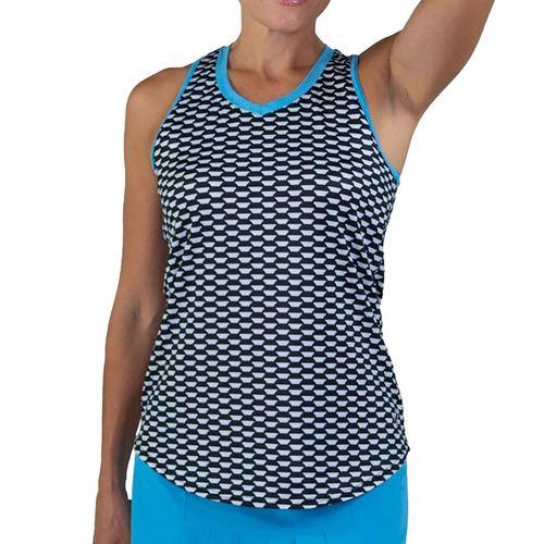 Jofit Key West Crosscourt Tank Womens Key West Print TT103 KWP