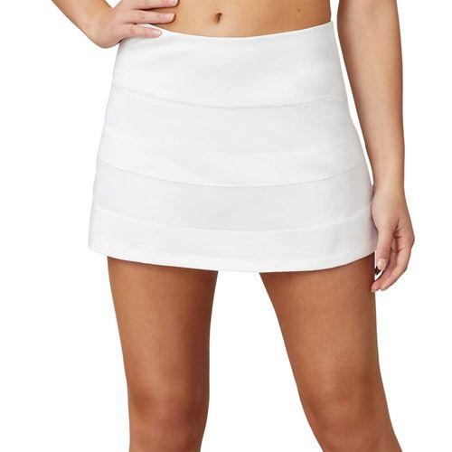 Fila White Line Call A Line Skirt Womens White TW015331 100