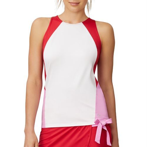 Fila 30 Love Full Coverage Tank Womens White/Cyclamen TW015473 100