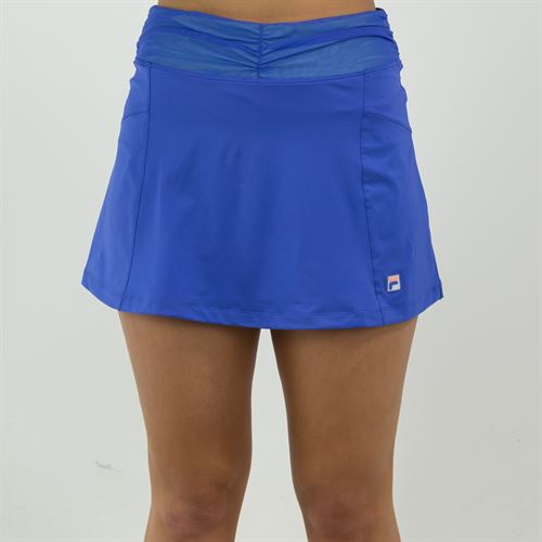 Fila Colorful Play Flare Skirt Womens Amparo Blue/Green Ash TW015561 499