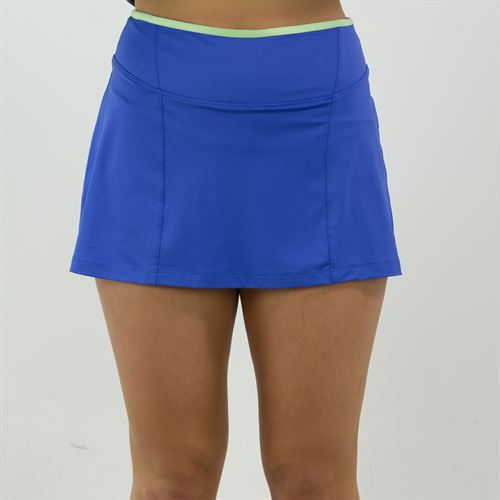 Fila Colorful Play A Line Skirt Womens Amparo Blue/Green Ash TW015562 499