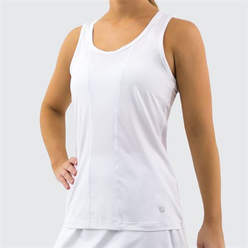 Fila Racerback Tank Womens White TW016438 100