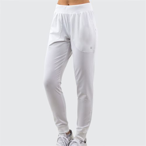 Fila Pant Womens White TW016455 100