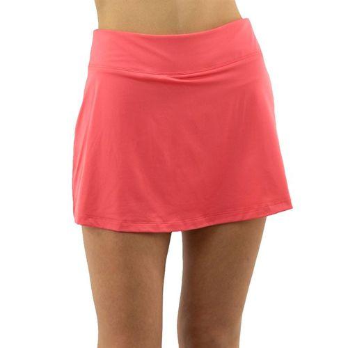 Fila Mad For Plaid A Line Skirt Womens Calypso Coral TW017896 679