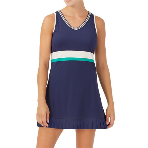 Fila Heritage Dress Womens Navy/Ecru/Court Green TW036906 412