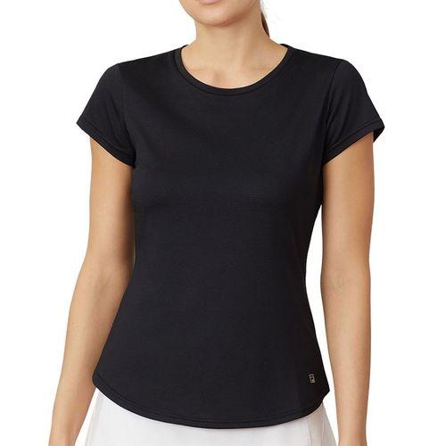 Fila Essentials Short Sleeve Top Womens Black TW036912 001