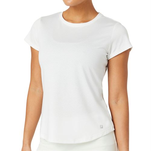 Fila Essentials Short Sleeve Top Womens White TW036912 100