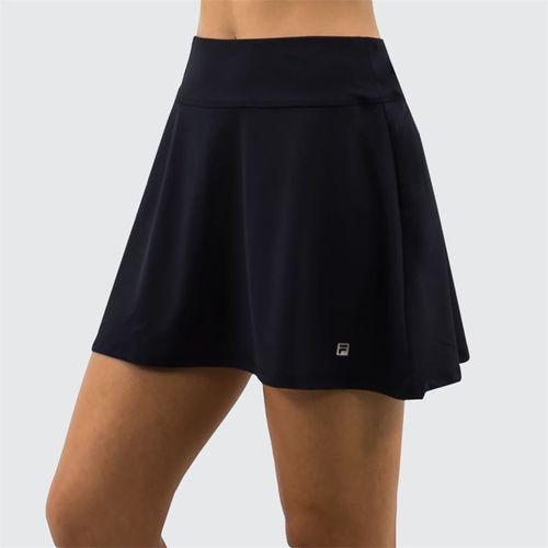 Fila Long Flirty Skirt -Black