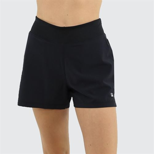 Fila Double Layer Short Womens Black TW163RV8 001