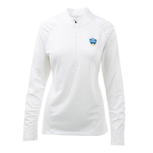 Fila Womens Half Zip Pullover - White