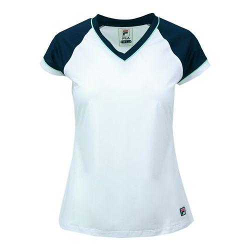 Fila Heritage Cap Sleeve Top - White