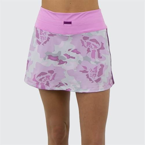 6eeaa68002 Fila Love Actually Taunt Skirt 13.5 in - Orchid Floral Camo Print