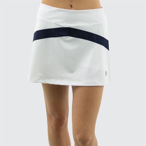 Fila Heritage Colorblocked Skirt - White/Navy